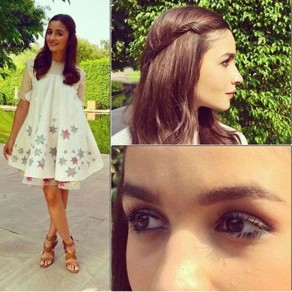 20-Catchy-Frock-Summer-Outfit Alia Bhatt Outfits-32 Best Dressing Styles of Alia Bhatt
