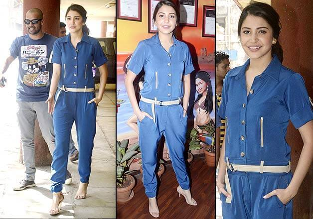 23-Anushka-Sharma-in-Classic-Blue-Separates Anushka Sharma Outfits-32 Best Dressing Styles of Anushka Sharma
