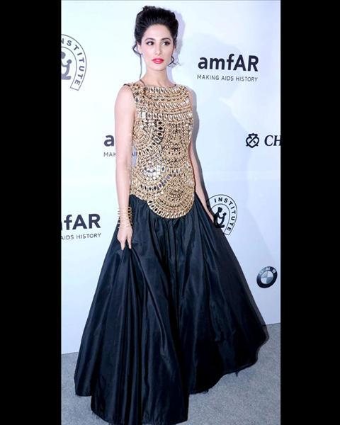 #26 - Nargis Fakhri in Abu Jani-Sandeep Khosla dress