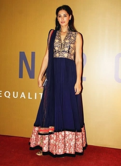 #29 - Nargis Fakhri in Manish Malhotra Fashion Outfit