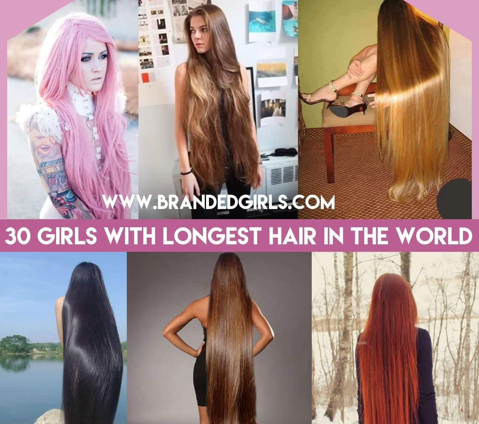 30 Girls with longest hair in the world