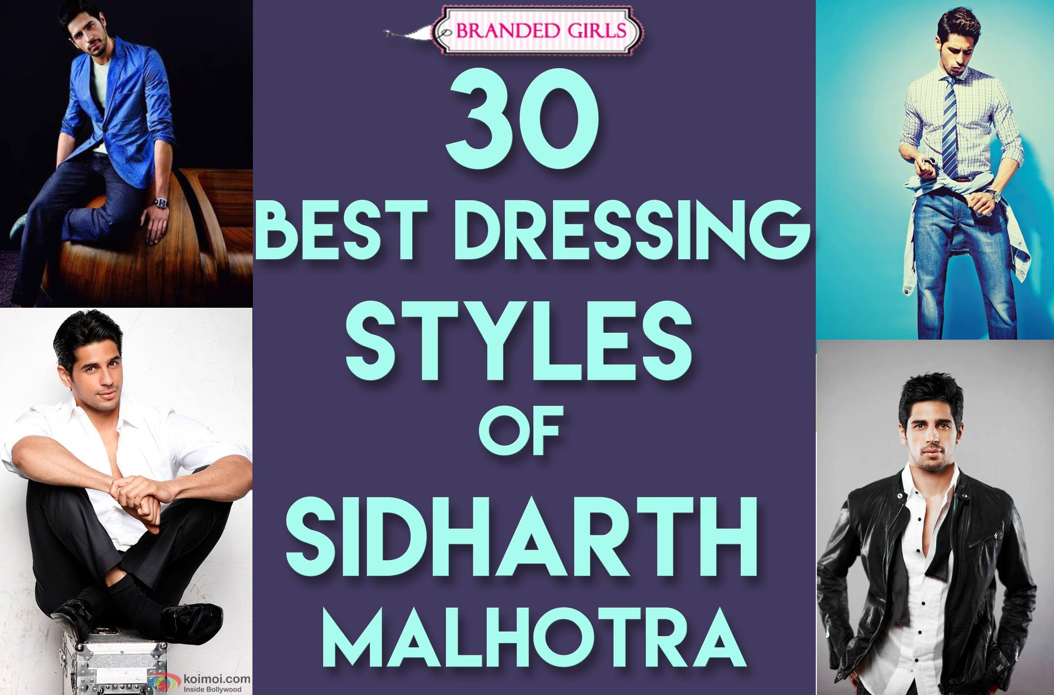 30 best dressing styles of sidharth malhotra