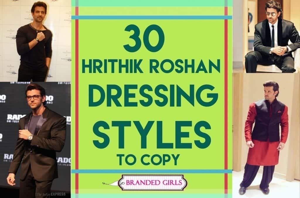 30 dressing styles od hrithik roshan to copy