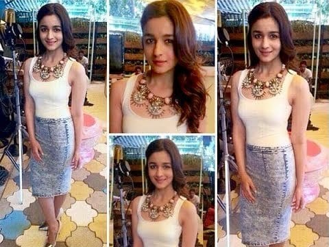 31-Gorgeous-Pencil-Skirt-Outfit Alia Bhatt Outfits-32 Best Dressing Styles of Alia Bhatt