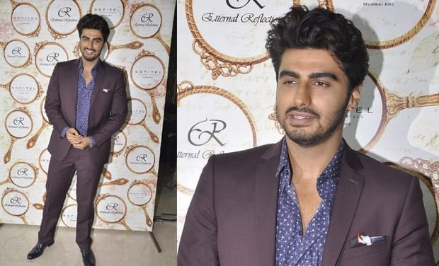 7-The-Coolest-of-Wine-Collar-Suits Arjun Kapoor Outfits-30 Best Dressing Styles of Arjun Kapoor to Copy