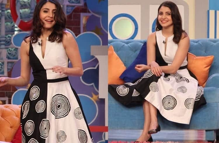 9-Anushka-Sharma-in-a-Wondrous-Urvashi-Dress Anushka Sharma Outfits-32 Best Dressing Styles of Anushka Sharma