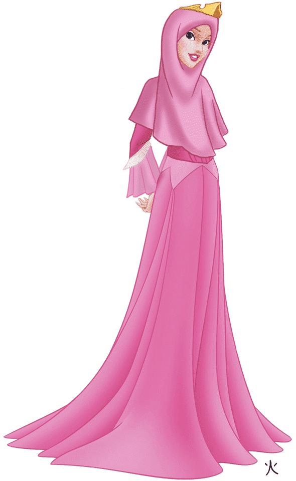 Aurora Disney Princesses in Hijab-11 Pics of Disney Princesses Muslim Version