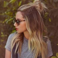 Half-Bun Easy and Quick Hairstyles–Top 10 Super Fast Hairstyles to Do