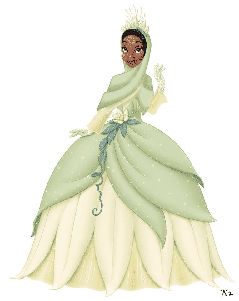 Beautiful Disney Hijabi Princesses (1)