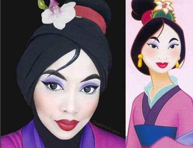 disney-2 Disney Princesses in Hijab-11 Pics of Disney Princesses Muslim Version