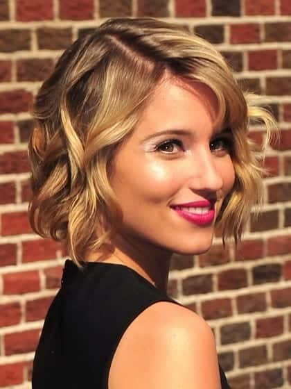 heart-face-shape-hairstyles-dianna-agron 20 Best Hairstyles for Heart Shaped Face Women