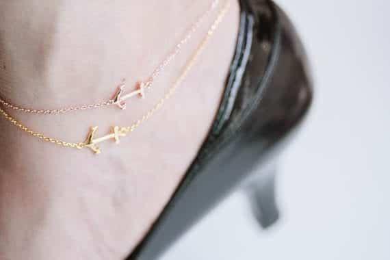 12-The-Hidden-Cuteness-in-Anchors Cute Ankle Bracelets-19 Ideas how to Wear Ankle Bracelets