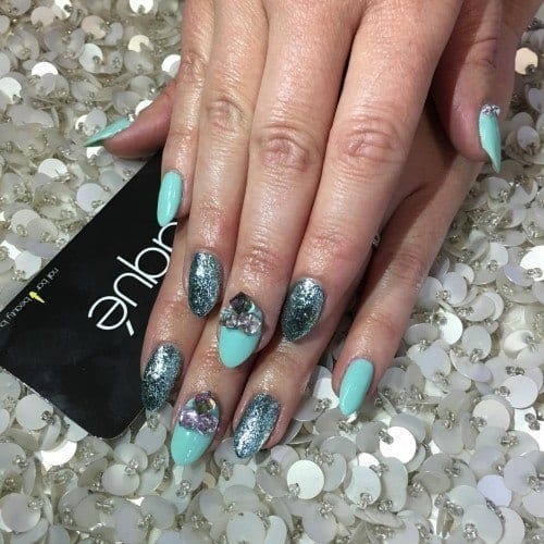 12907303_552054458334970_574284459_n-500x500 Short Nail Designs - 25 Cute Nail Art Ideas for Short Nails