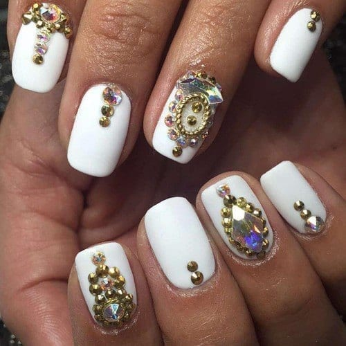 12912462_1772104423021991_1813250580_n-500x500 Short Nail Designs - 25 Cute Nail Art Ideas for Short Nails