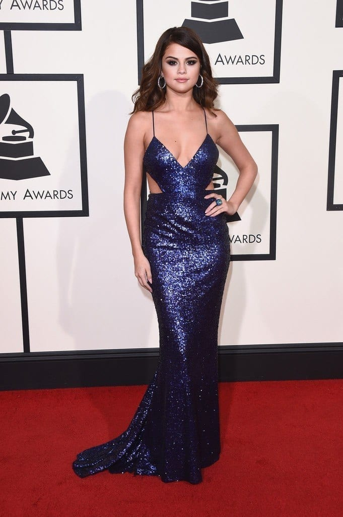 13-Her-Grammy-2016-Outfit-681x1024 Selena Gomez Outfits-25 Best Dressing Styles of Selena to Copy
