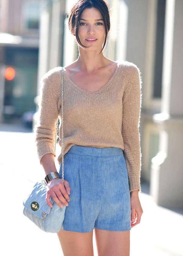 #14 - A Beautiful Outfit with Nude Sweater
