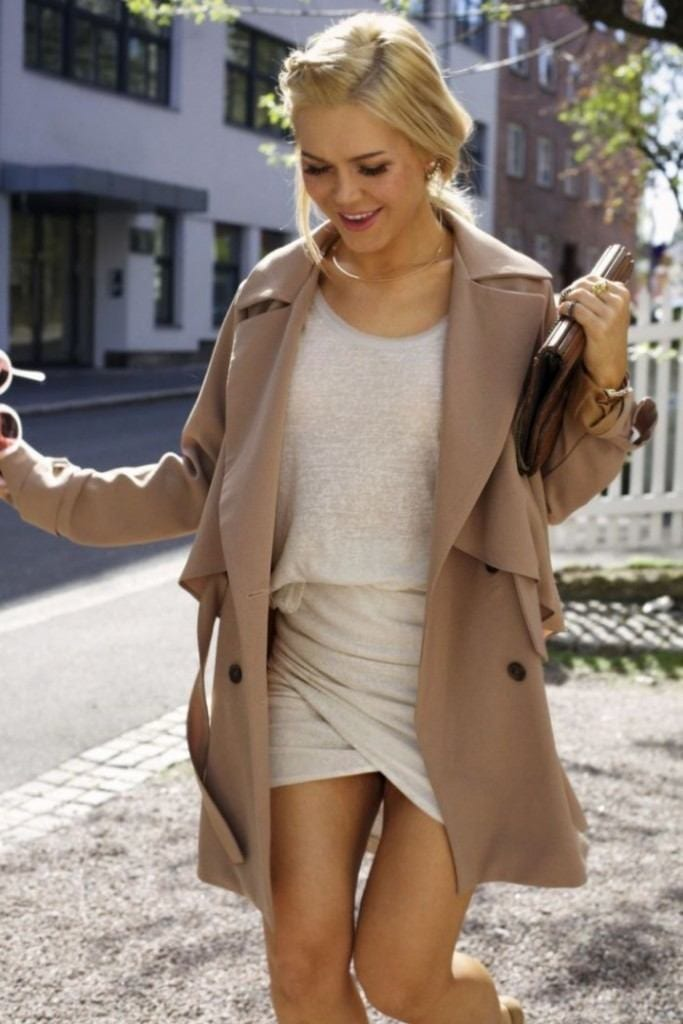 #16 - A Nude Wrap Skirt Style