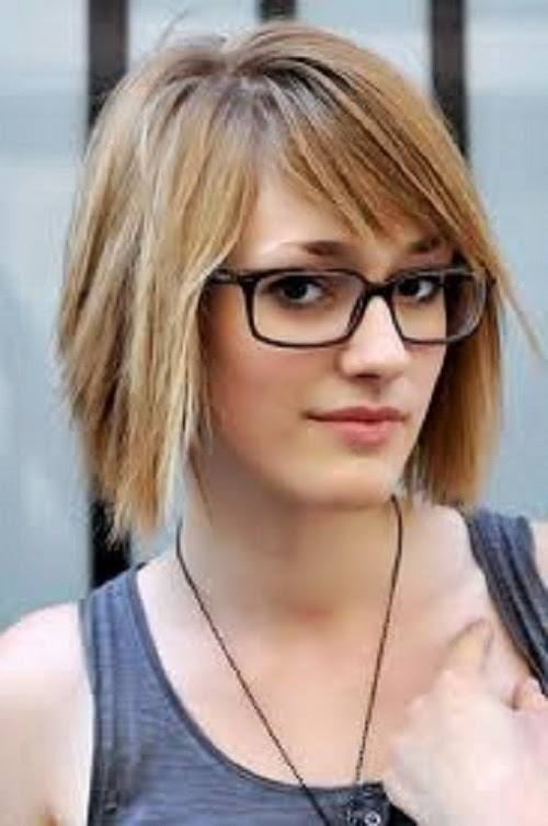 #20 - Dead Straight Long Pixie Cut