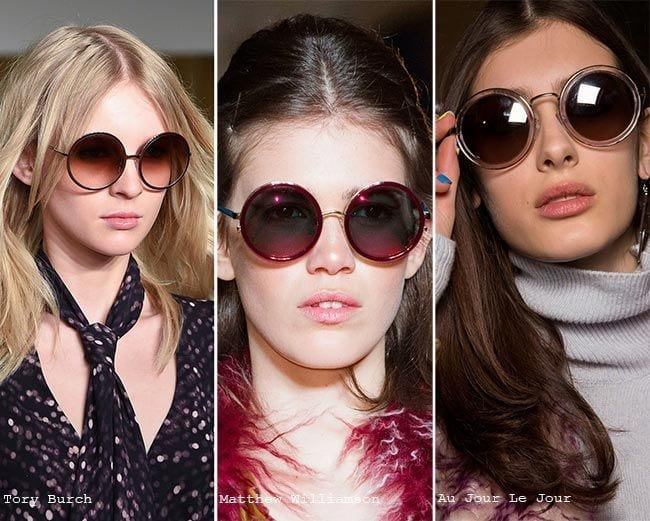20-The-Coolness-in-Round-Frames Sunglasses 2016-Eye-wear Fashion Trends 30 Best Glasses to Check