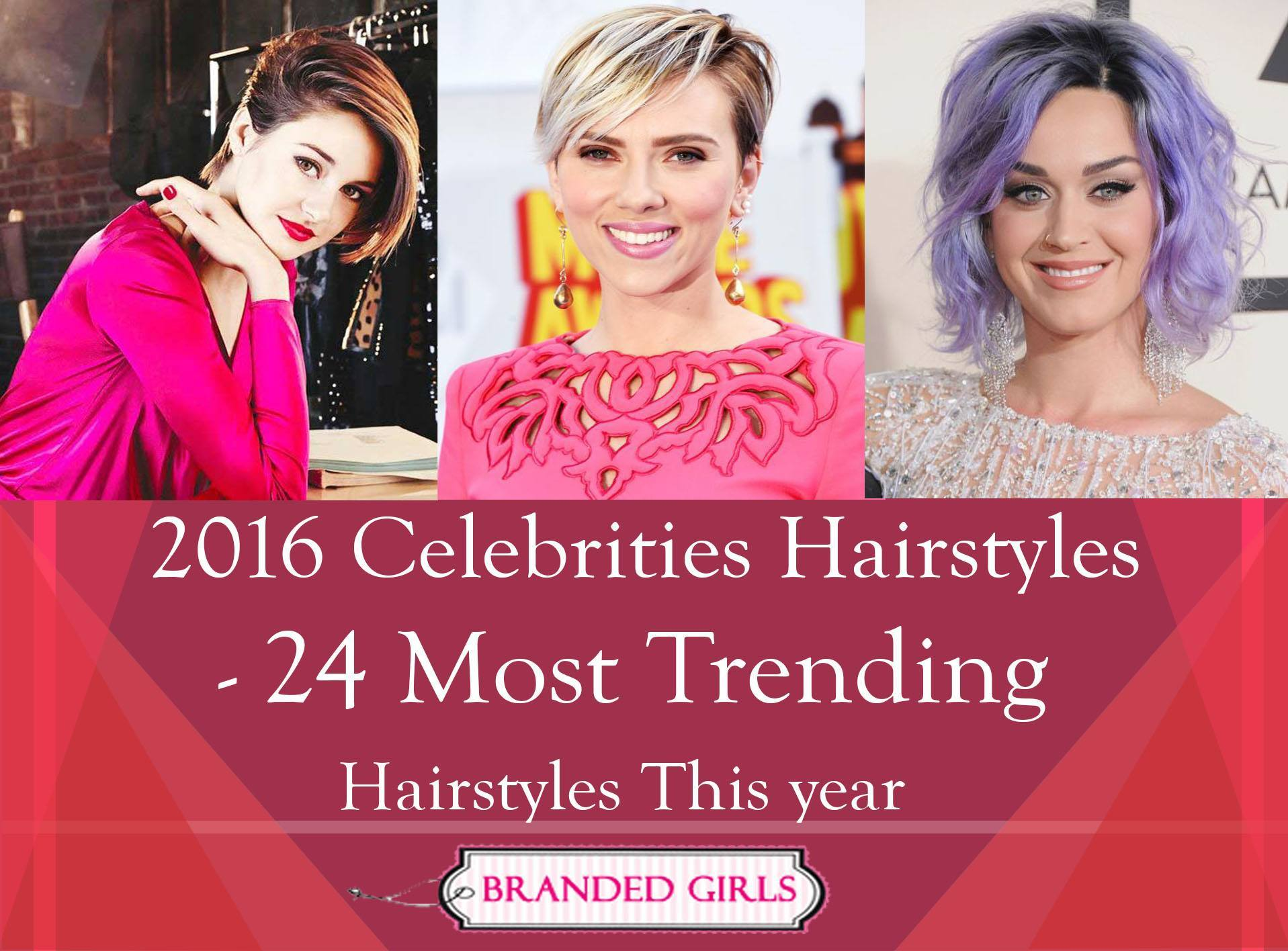 24 most trending celebrity hairstyles this year