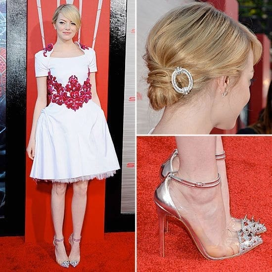 25-A-Stunning-Valentine-Outfit Emma Stone Outfits-25 Best Dressing Styles of Emma Stone to Copy