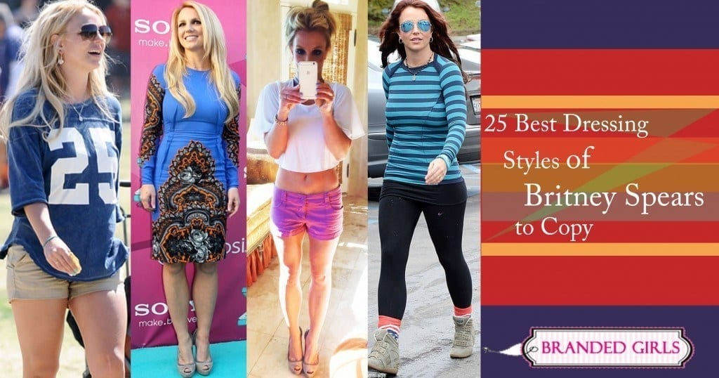 25 Best Dressing Styles of Britney Spears to Copy