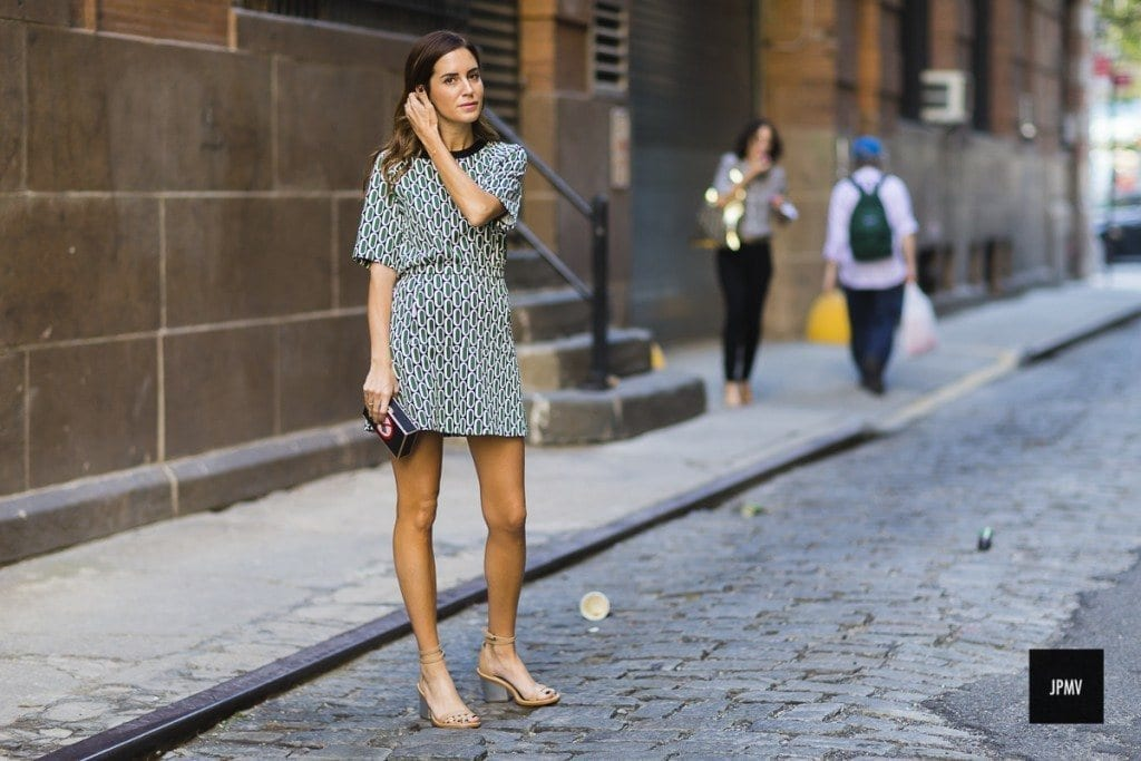 27-Nicely-Printed-Short-Dress-Style-1024x683 Women Summer Street Style-30 Cute Summer Styles to Copy in 2016
