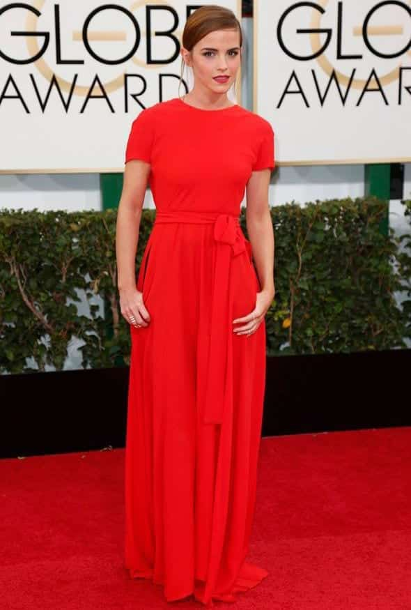 3-Because-Coral-is-the-New-Trend Emma Watson Outfits - 25 Best Dressing Style of Emma Watson