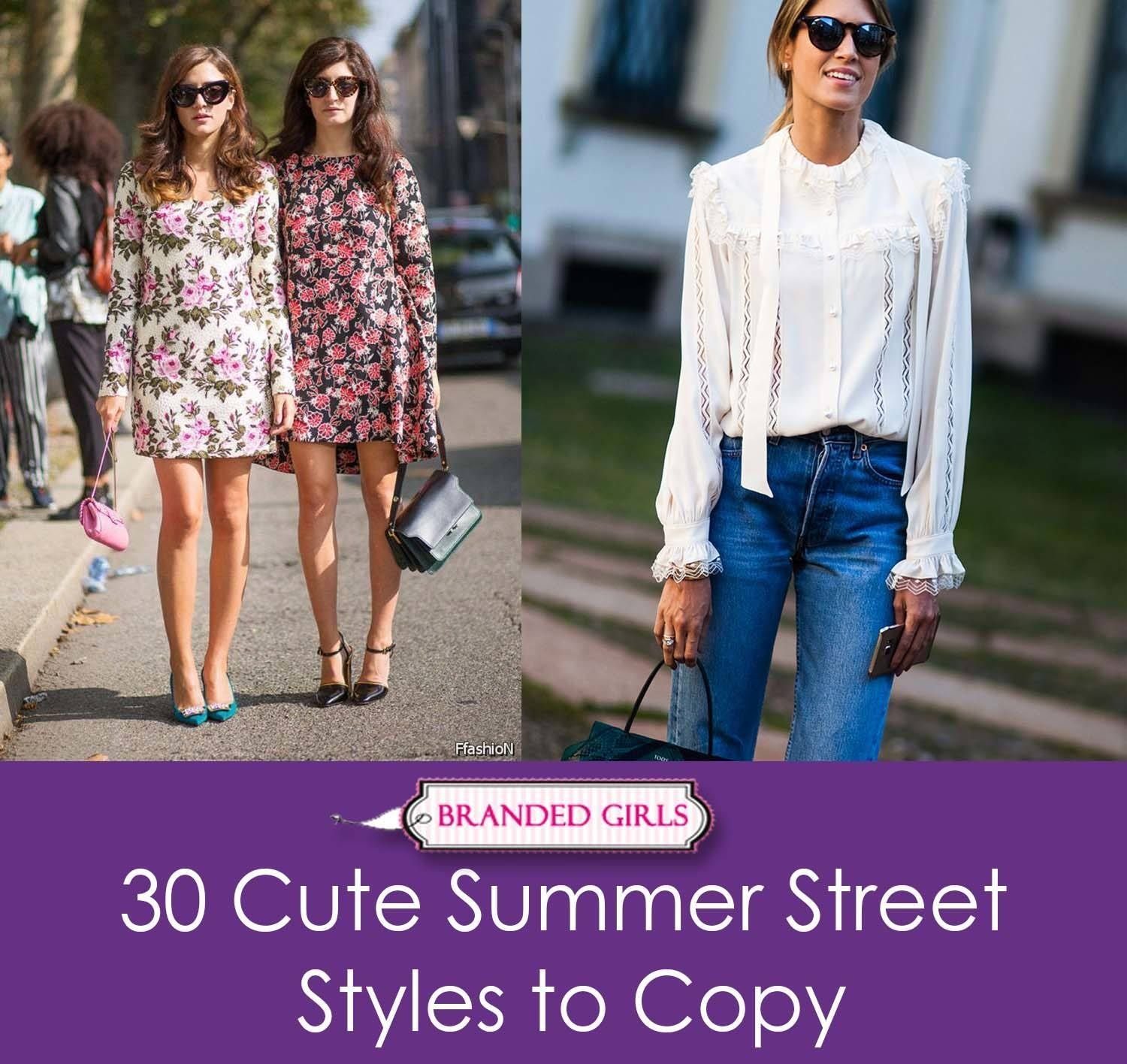 30 cute summer styles to copy