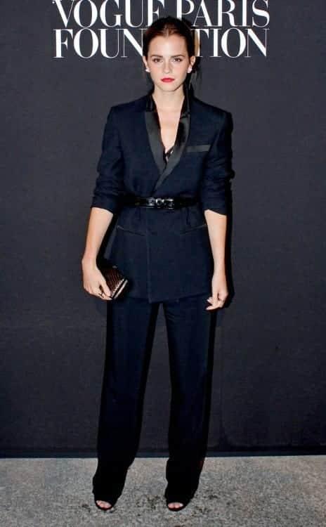 5-Bossy-Formals Emma Watson Outfits - 25 Best Dressing Style of Emma Watson