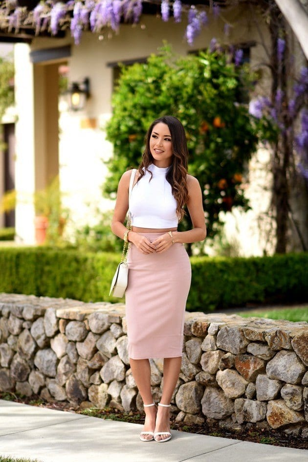 #8 - A Glorious Pencil Skirt Outfit