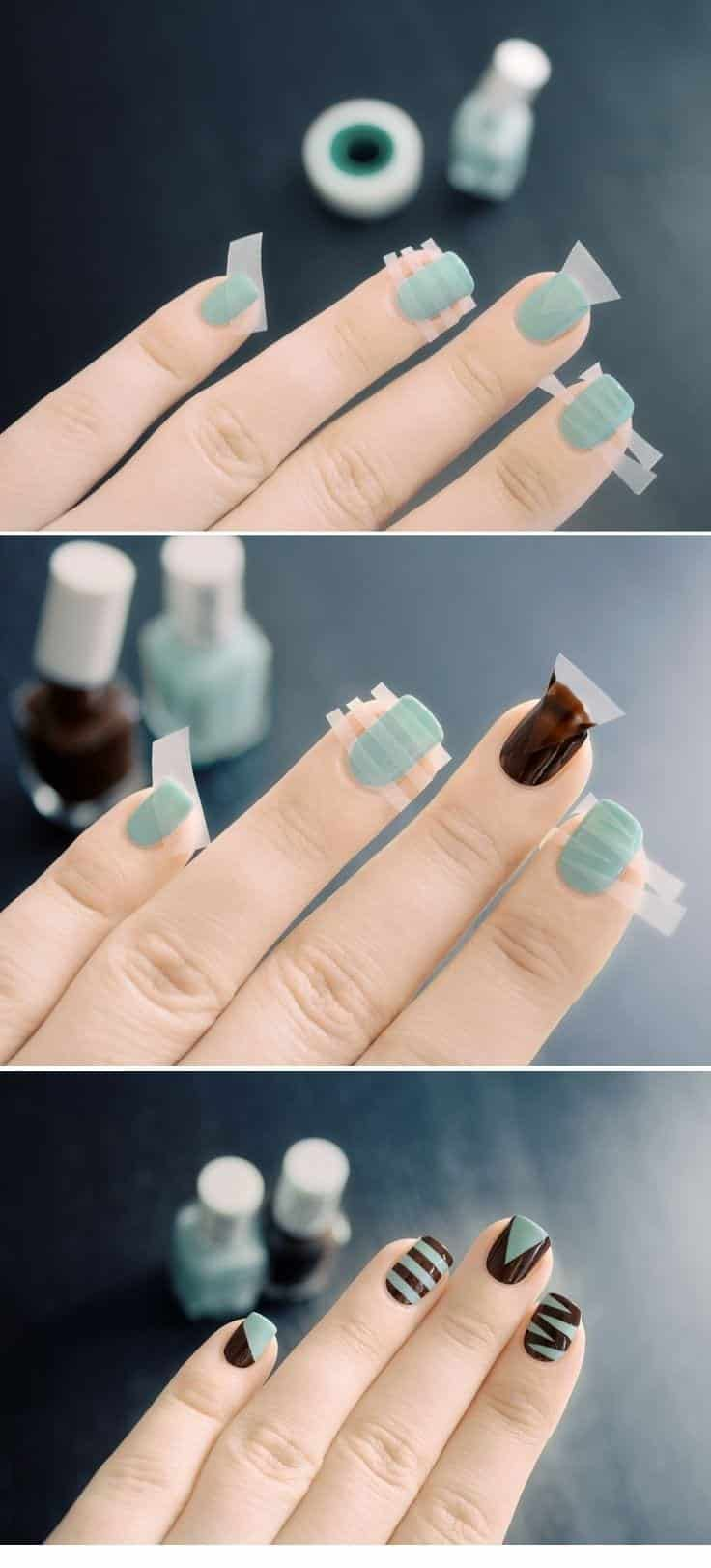 Cool-and-Fun-Nail-Art-Design Short Nail Designs - 25 Cute Nail Art Ideas for Short Nails