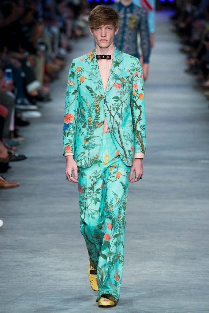 Gucci-floral-printed-outfit2-683x1024 Best of Gucci Spring/Summer 2016 Collection for Men-Gucci Fashion