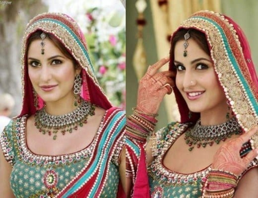 Katrina-Kaif-Wedding-Party-Wear-Dress-520x399 Katrina Kaif Outfits-25 Dressing Styles of Katrina Kaif to Copy