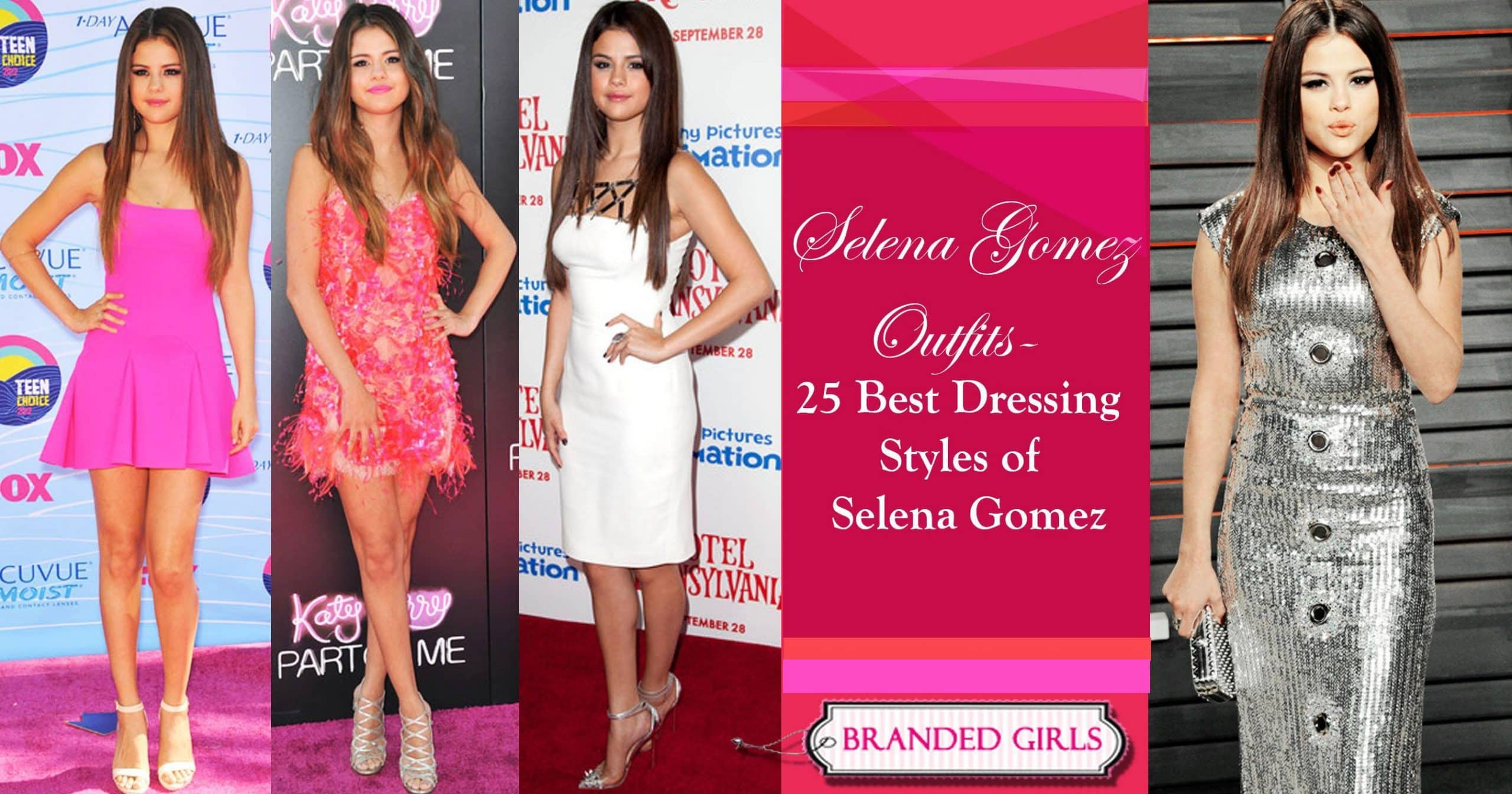best of selena gomez outfits