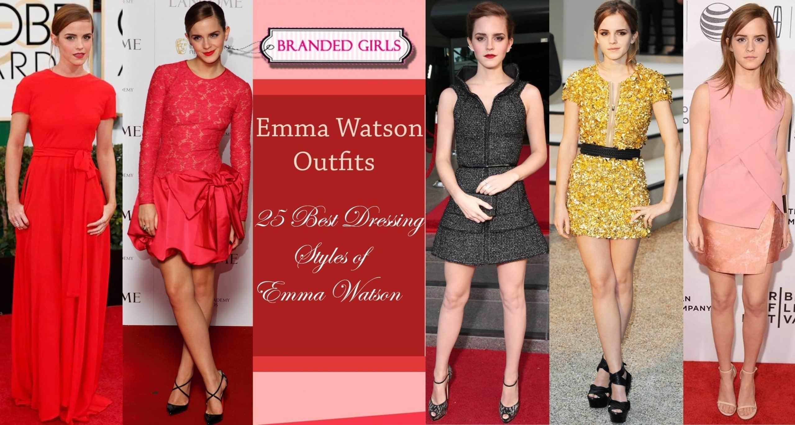 em watson outfits