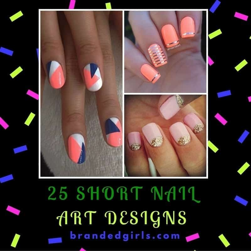 Trendy and Easy to Make Nail Art for Short Nails (2)