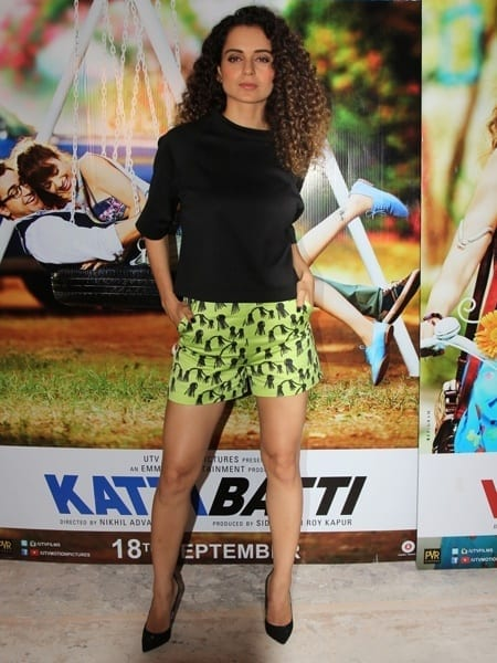 kangna_kattibattipromotions Kangna Ranaut Outfits – 30 Best Dressing Styles of Kangna