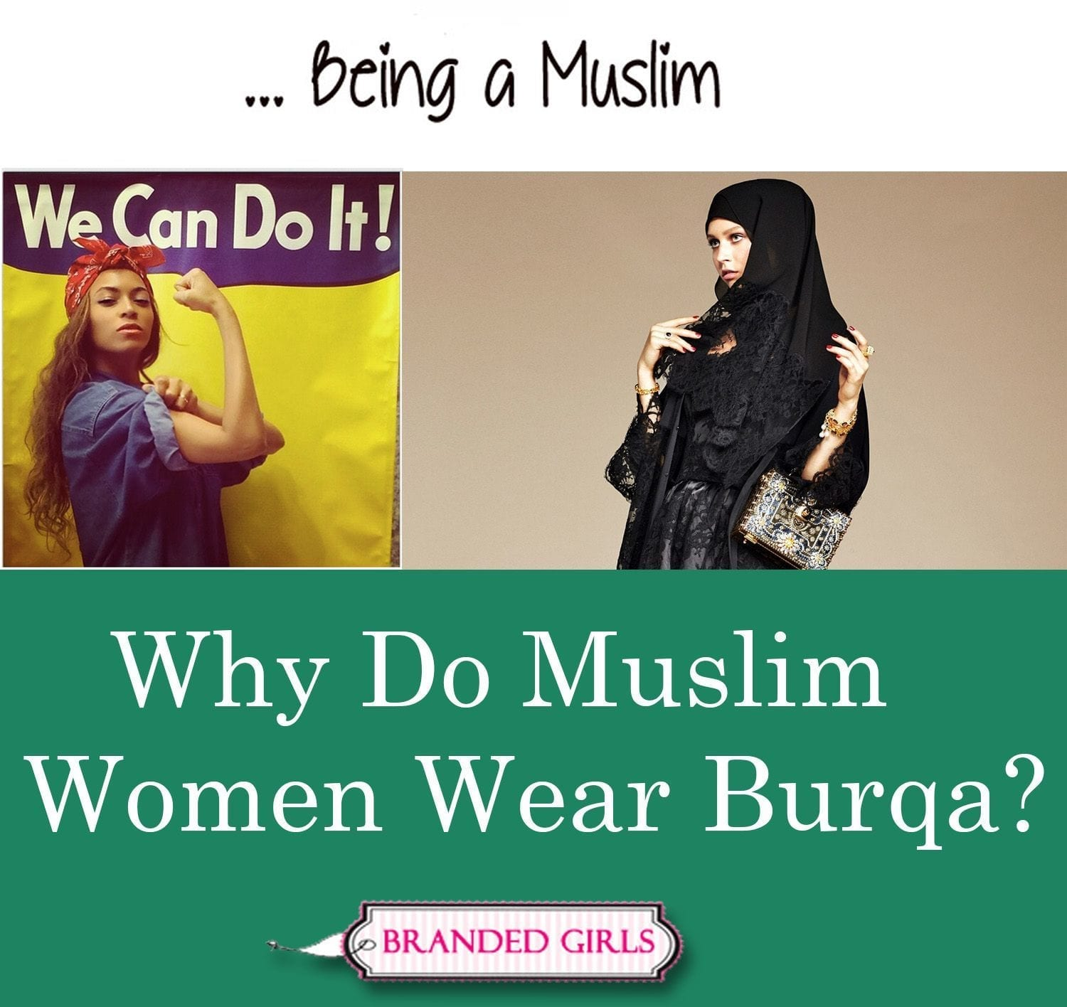 why do muslim women wear burqa