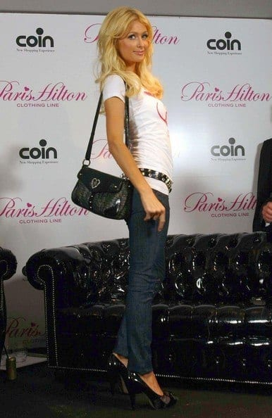 10-A-Promotional-Outfit Paris Hilton Outfits-25 Best Dressing Styles of Paris Hilton to Copy