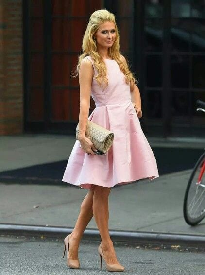 24-Elegance-Exemplified Paris Hilton Outfits-25 Best Dressing Styles of Paris Hilton to Copy