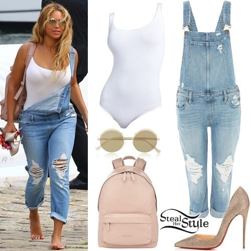 9-A-Unique-Beach-Style Beyonce Outfits - 25 Best Dressing Styles of Beyoncé to Copy