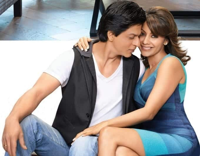 SRK-Gauri-1 The Best and Cutest Bollywood Real Life Couples who Married