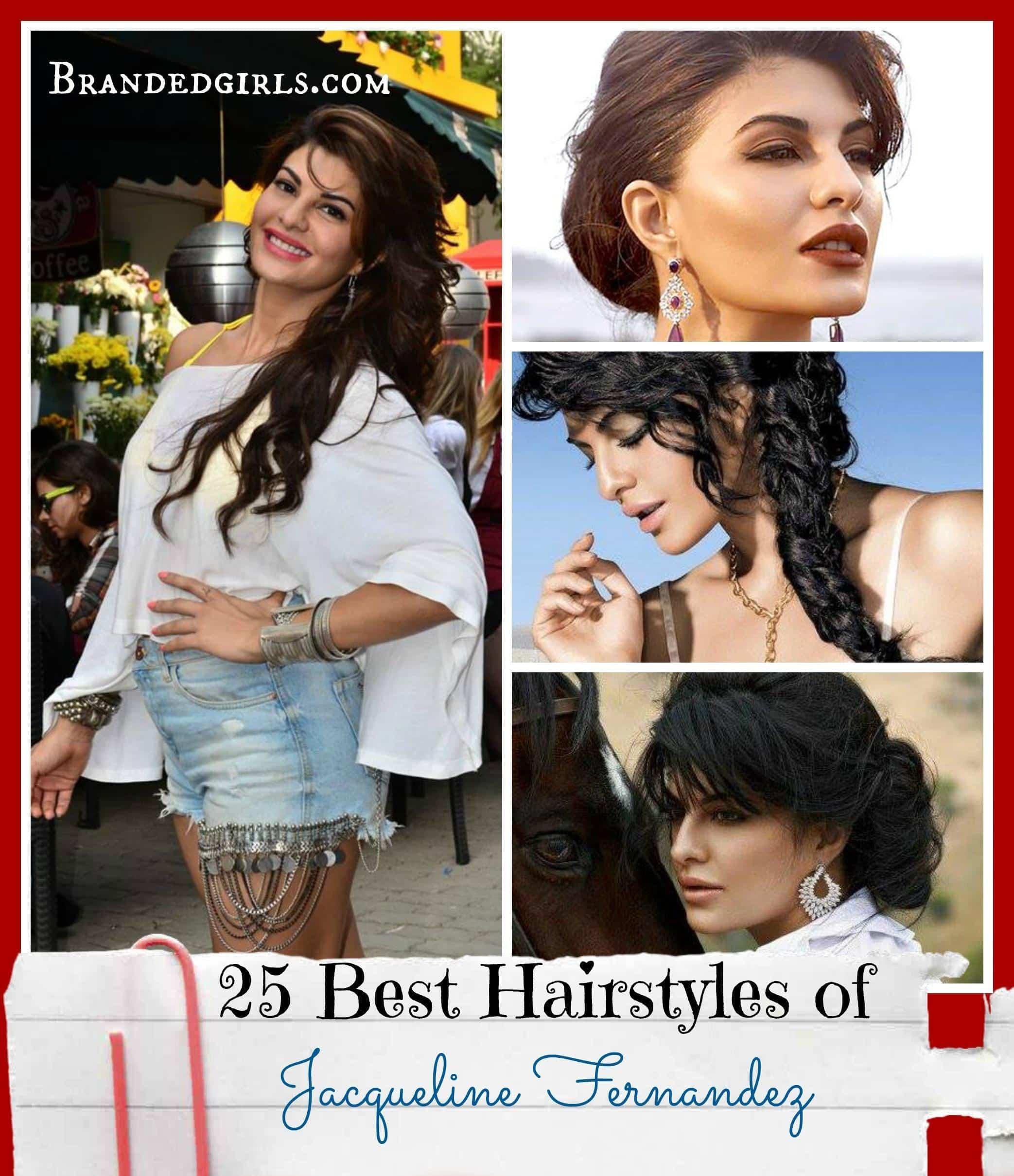 jacqueline fernandez hairstyles