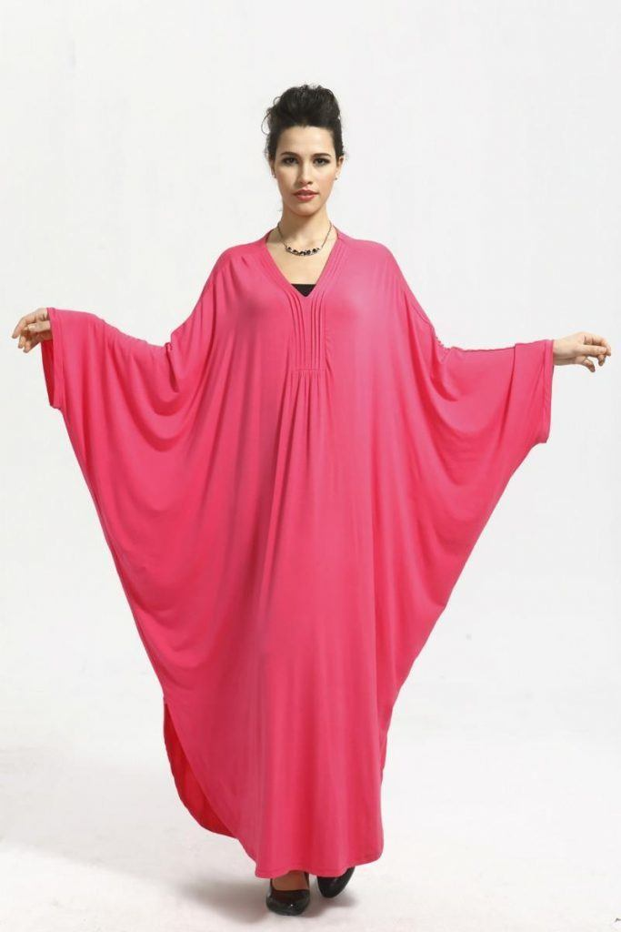pink-Kaftans-style-collection-of-abaya-683x1024 Kaftan Abaya Designs-18 Latest Styles to Buy Online Now