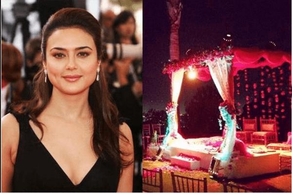 preitys-mandak Preity Zinta Marriage Pics-Wedding Dress and Guest Celebrities Outfits