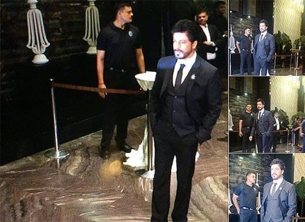 sharukh-khan Preity Zinta Marriage Pics-Wedding Dress and Guest Celebrities Outfits