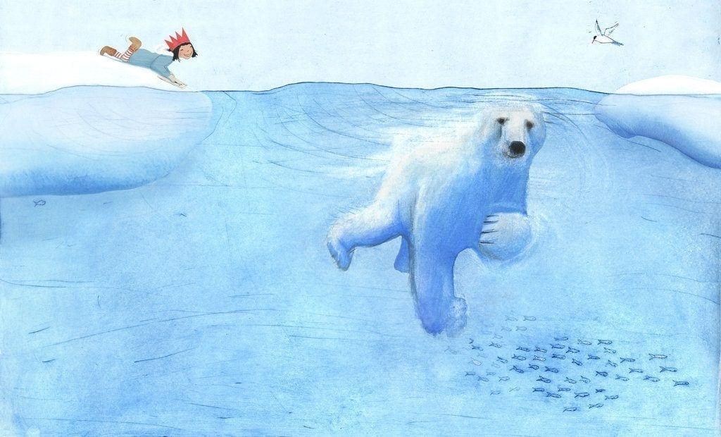 the-polar-bear-most-beautiful-illustration-1024x620 80 Most Amazing and Beautiful Illustrations to Blow Your Mind