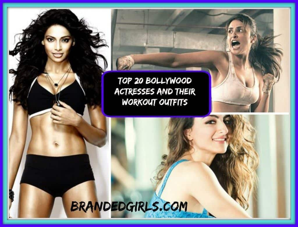 Bollywood actresses workout outfits at the gym
