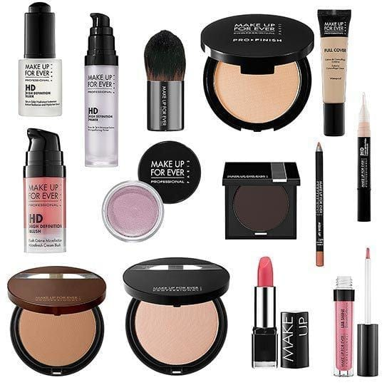 make-up-for-ever-make-up-bag-remix-tour-makeover-products Top Makeup Brands – List of 15 Most Popular Cosmetics Brands 2017